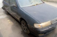 Used blue 1996 Nissan Sunny manual for sale in Lagos