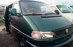 Green 2000 Volkswagen Transporter car manual at attractive price in Lagos