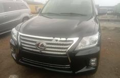 Black 2010 Lexus 570 suv automatic for sale at price ₦22,000,000