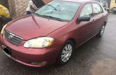 Red 2005 Toyota Corolla at mileage 1,209 for sale