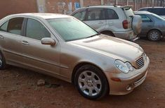 Grey 2005 Mercedes-Benz 240 automatic at mileage 145,433 for sale in Lagos