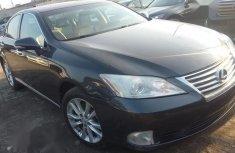 Best priced used black 2011 Lexus ES automatic in Lagos