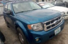 Blue 2012 Ford Escape automatic for sale in Port Harcourt