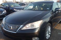 Lexus ES 350 2011 Black for sale