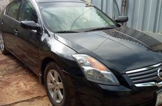 Clean used black 2007 Nissan Altima sedan automatic for sale in Akure