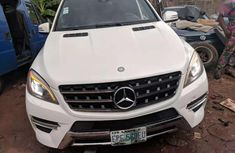 Selling 2012 Mercedes-Benz ML automatic in good condition at price ₦12,000,000