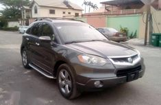 Used grey/silver 2008 Acura RDX automatic for sale at price ₦3,500,000