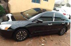 Selling black 2004 Honda Accord sedan automatic at price ₦750,000