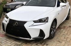 Selling white 2017 Lexus IS automatic at mileage 13,000