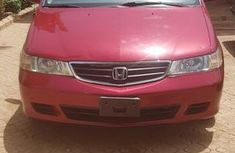 Sell red 2003 Honda Odyssey automatic in Kano
