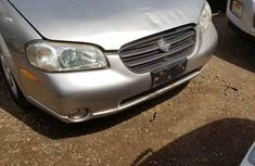 Sell used grey/silver 2000 Nissan Maxima manual at price ₦600,000