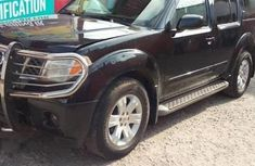 Clean black 2005 Nissan Pathfinder automatic for sale at price ₦1,400,000