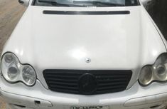 Sell white 2003 Mercedes-Benz C240 in Warri at cheap price