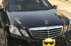Sell well kept black 2013 Mercedes-Benz E350 sedan at price ₦5,000,000