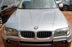 Selling grey/silver 2004 BMW X3 in Ikeja