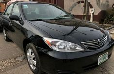 Black 2004 Toyota Camry sedan automatic for sale in Birnin Kebbi