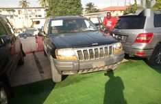 Black 2000 Jeep Grand Cherokee car at attractive price in Lagos