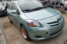 Used green 2007 Toyota Yaris automatic for sale at price ₦1,950,000