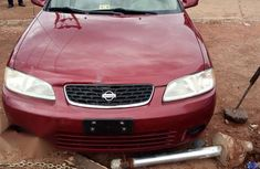 Best priced red 2001 Nissan Sentra automatic in Lagos
