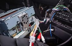 How to install a new stereo with MP3 in your car