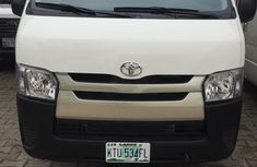 Sell white 2013 Toyota HiAce at mileage 30,000 in Lagos at cheap price