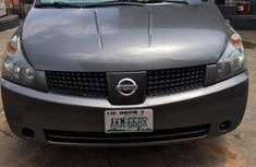 Used grey/silver 2005 Nissan Quest suv / crossover for sale at price ₦1,200,000