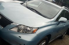 Selling blue 2010 Lexus RX automatic in Lagos