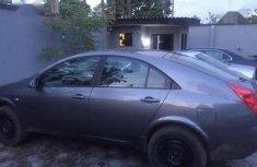 Nissan Primera 2005 Gray for sle