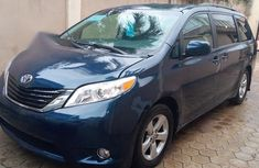 Blue 2011 Toyota Sienna automatic for sale at price ₦4,200,000 in Lagos