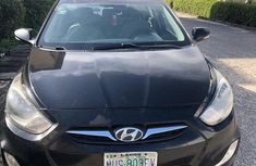 Sell cheap black 2012 Hyundai Accent at mileage 98,658 in Lagos