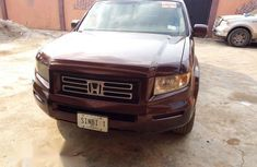 Red 2007 Honda Ridgeline pickup / truck automatic for sale in Abeokuta
