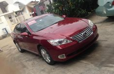 Used red 2012 Lexus ES automatic for sale in Ikeja