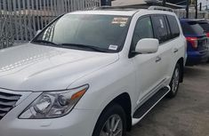 Selling 2011 Lexus LX in good condition in Lagos