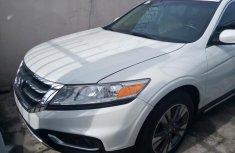 Sell white 2014 Honda Accord CrossTour sedan automatic in Lagos