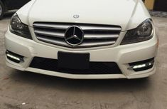 White 2012 Mercedes-Benz C300 car at mileage 98,000 at attractive price