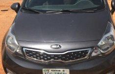 Grey/silver 2012 Kia Rio car sedan automatic in Abuja