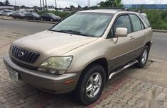 Used gold 2001 Lexus RX automatic at mileage 68,000 for sale