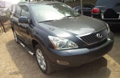 Clean used grey/silver 2007 Lexus RX suv / crossover automatic for sale in Port Harcourt