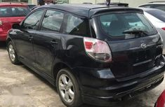 Toyota Matrix 2002 Black for sale
