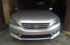Sell well kept grey/silver 2015 Honda Accord sedan at price ₦5,250,000