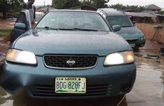 Blue 2002 Nissan Sentra car at attractive price in Oyo