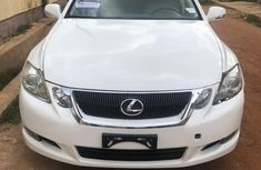 White 2009 Lexus GS automatic at mileage 93,000 for sale