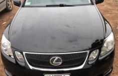 Sell black 2006 Lexus GS sedan automatic