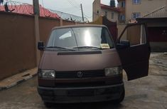 Used brown 1992 Volkswagen Transporter manual for sale at price ₦1,200,000