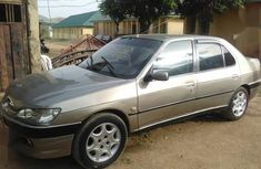 Grey/silver 1998 Peugeot 306 car sedan manual at attractive price