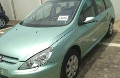 Peugeot 307 2007 Green for sale