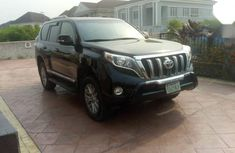 Used black 2015 Toyota 4-Runner suv / crossover automatic for sale