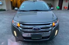 Sell cheap brown 2014 Ford Edge automatic at mileage 85,000
