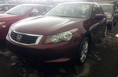 Foreign Used Honda Accord 2008 Model Red for Sale