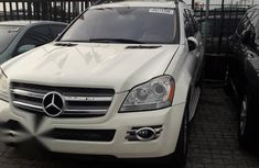 Well maintained white 2008 Mercedes-Benz GL450 automatic for sale at price ₦5,100,000